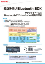 Bluetooth SDK「NetNucleus<sup>®</sup> BT 」展示パネル