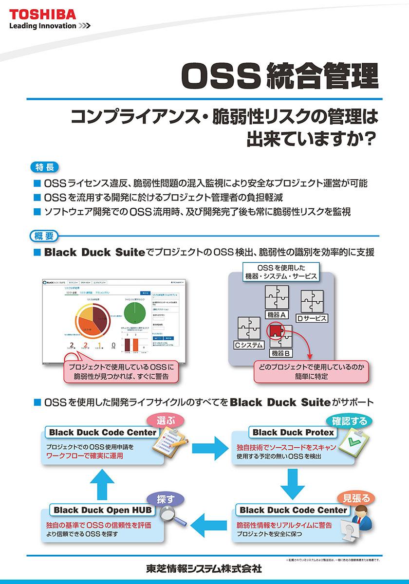オープンソース・ライセンス統合管理 「Black Duck Suite」展示パネル